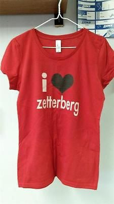 "NHL Detroit Red Wings ""I Heart Zetterberg""  Youth Girl's Tee - Hockey Cards Plus LLC  - 1"