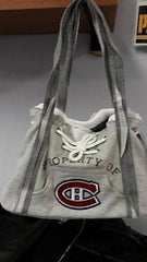 NHL Licensed Montreal Canadiens Hoodie Purse with Kangaroo Pocket - Hockey Cards Plus LLC
