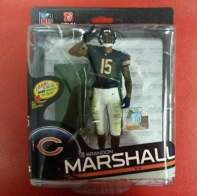 2014 NFL Series 34 McFarlane Figure Brandon Marshall - Hockey Cards Plus LLC