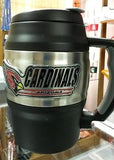 NFL Arizona Cardinals Heavy Duty Insulated Coffee Mug / Travel Mug Mini Keg 20oz - Hockey Cards Plus LLC