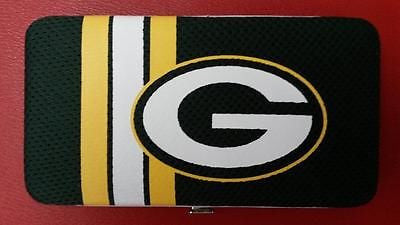 NFL Green Bay Packers Women's Mesh Shell Wallet - Hockey Cards Plus LLC