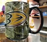 NHL Anaheim Ducks 15oz RealTree Camouflage Coffee Mug with  Logo - Hockey Cards Plus LLC