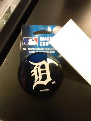 MLB Detroit Tigers Magnetic Chip Clip - Hockey Cards Plus LLC