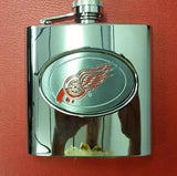 NHL Detroit Red Wings 6oz  Hip Flask - Hockey Cards Plus LLC