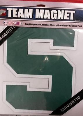 "NCAA  Licensed Michigan State Spartans 12"" Car Magnet - Hockey Cards Plus LLC"