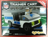 NFL Detroit Lions OYO Trainer Cart , 135 Pcs including 1 Trainer Figure - Hockey Cards Plus LLC