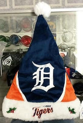 MLB Detroit Tigers Santa Hat - Hockey Cards Plus LLC