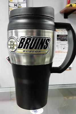 NHL Boston Bruins Heavy Duty Travel Mug  20oz - Hockey Cards Plus LLC