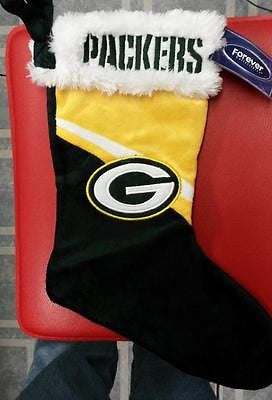 NFL Green Bay Packers Swoop Logo Christmas Stocking - Hockey Cards Plus LLC