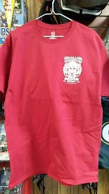 "NHL Detroit Red Wings ""White and Red, Till I'm Cold and Dead"" Tee - Hockey Cards Plus LLC  - 1"