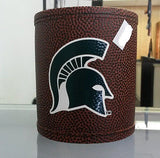NCAA Michigan State Spartans Football Can Holder - Hockey Cards Plus LLC  - 1