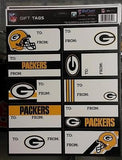 NFL Green Bay Packers Gift Tags - Hockey Cards Plus LLC