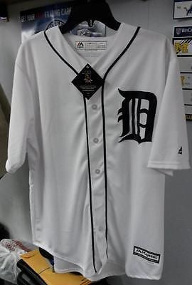 MLB Detroit Tigers Majestic Miguel Cabrera Authentic Replica Home Jersey (XL) - Hockey Cards Plus LLC