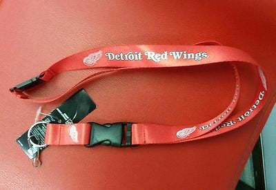 "NHL Detroit Red Wings 24"" Break Away Lanyard - Hockey Cards Plus LLC"