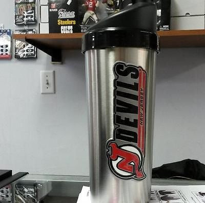 NHL New Jersey Devils Protein Shaker / Mixed Drink Shaker
