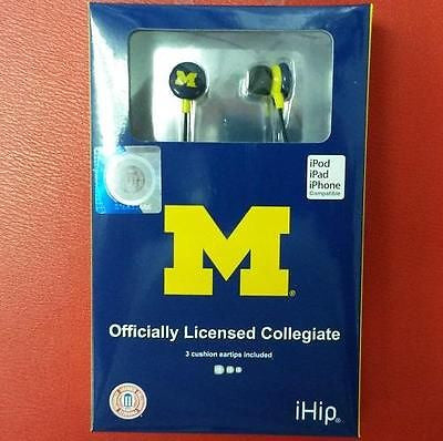 Ohio State Buckeyes NCAA Officially Licensed Ihip Earbuds