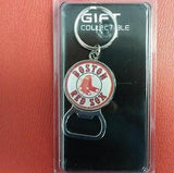 MLB Boston Red Sox Bottle Opener Keychain - Hockey Cards Plus LLC