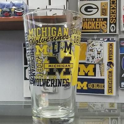 NCAA Michigan Wolverines 16oz Spirit Pint