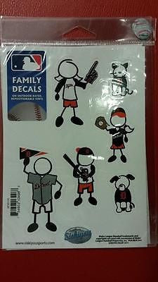 "MLB Detroit Tigers Family Decal Small  5"" X 7"" - Hockey Cards Plus LLC"