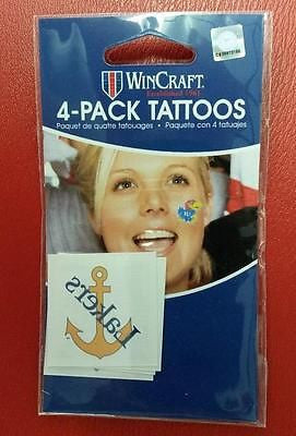 NCAA Lake Superior State Lakers Face Tattoo's - Hockey Cards Plus LLC