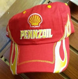 NASCAR Kurt Busch #22 Pennzoil Flames Pit Cap (One Size Fits All) - Hockey Cards Plus LLC