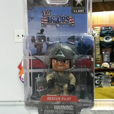 Lil' Troops U.S. Army Rescue Pilot  Action Figure