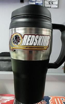 NFL Washington Redskins Heavy Duty Travel Mug  20oz - Hockey Cards Plus LLC