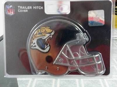 "NFL Jacksonville Jaguars Metal Helmet Trailer Hitch Cover ( for 2"" hitch )"