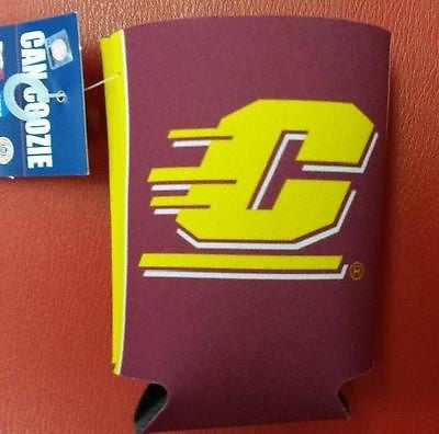 NCAA Central Michigan Chippewas 12oz Can Coozie - Hockey Cards Plus LLC