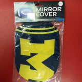 NCAA Michigan Wolverines Rearview Mirror Covers (2pk) Small - Hockey Cards Plus LLC