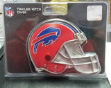 "NFL Buffalo Bills Metal Helmet Trailer Hitch Cover ( for 2"" hitch ) - Hockey Cards Plus LLC"