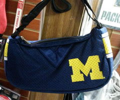 NCAA Licensed Michigan Wolverines Jersey Purse