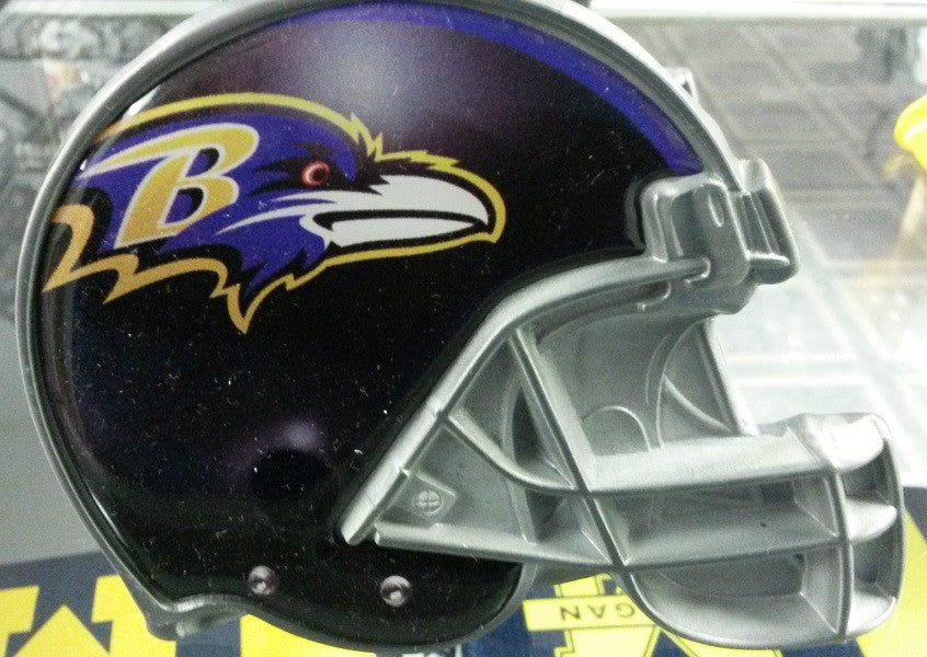 "NFL Baltimore Ravens Metal Helmet Trailer Hitch Cover ( for 2"" hitch )"