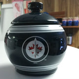 NHL Winnipeg Jets Ceramic Jar - Hockey Cards Plus LLC
