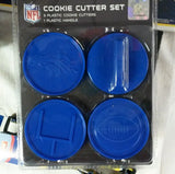 NFL Denver Broncos Cookie Cutter Set - Hockey Cards Plus LLC  - 1
