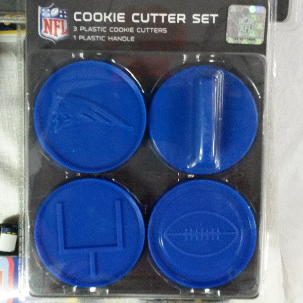 NFL New England Patriots Cookie Cutter Set