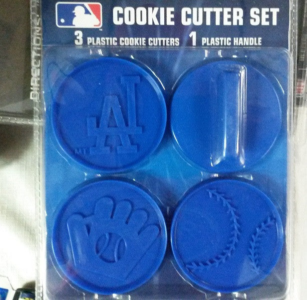 MLB Los Angeles Dodgers Cookie Cutter Set - Hockey Cards Plus LLC  - 1