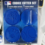 MLB New York Mets Cookie Cutter Set - Hockey Cards Plus LLC  - 1