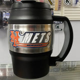 MLB New York Mets 20oz Heavy Duty Insulated Mug / Mini Keg / Coffee Mug - Hockey Cards Plus LLC