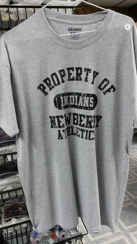 "Newberry Indians ""Property of"" Tee Shirt"