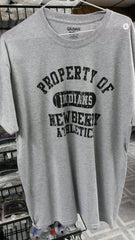 "Newberry Indians ""Property of"" Tee Shirt - Hockey Cards Plus LLC"