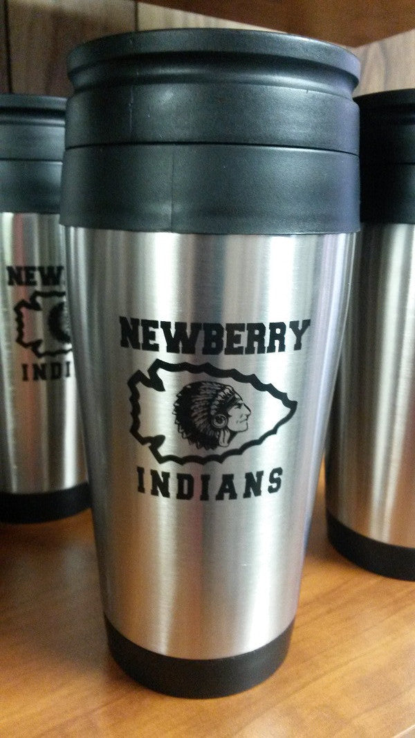Newberry Indians Insulated Travel Tumbler - Hockey Cards Plus LLC