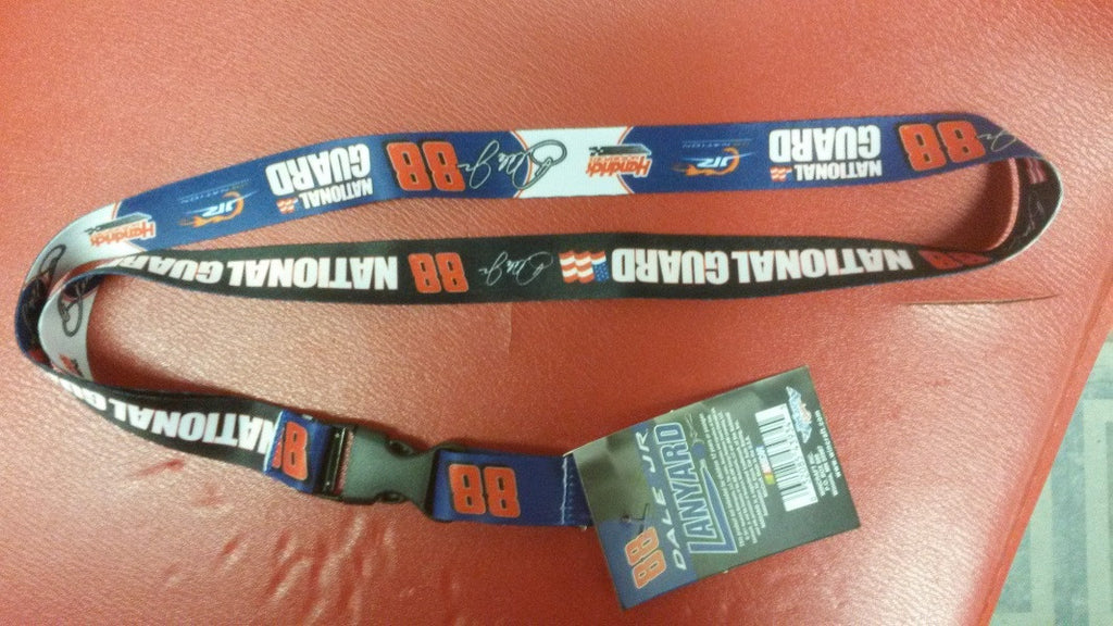 NASCAR Dale Earnhardt Jr. National Guard Lanyard with Detachable Buckle