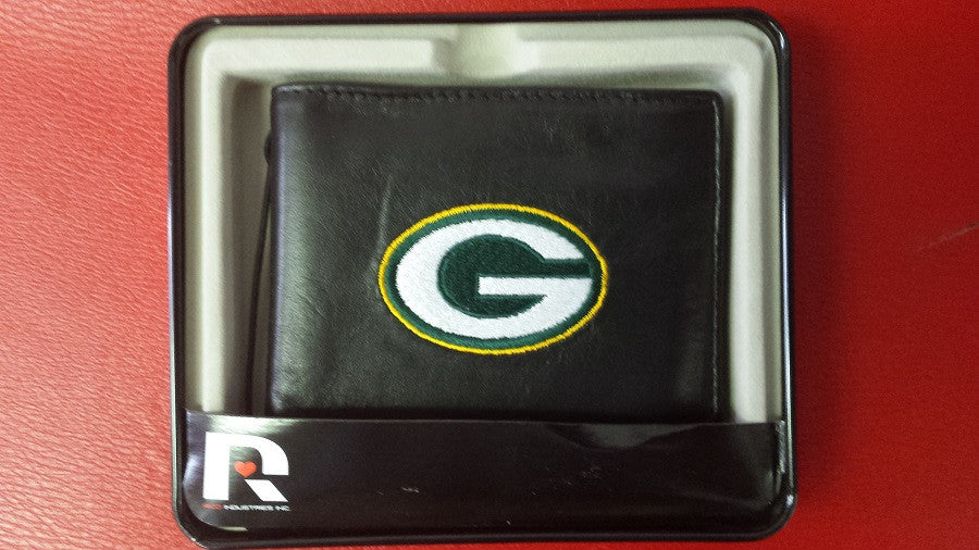 NFL Green Bay Packers Embroidered Billfold / Wallet
