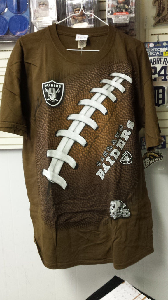 NFL Oakland Raiders 3D-Style Kickoff Tie-Dye T-Shirt