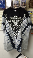NFL Oakland Raiders V Style Tie-Dye Men's T-Shirt