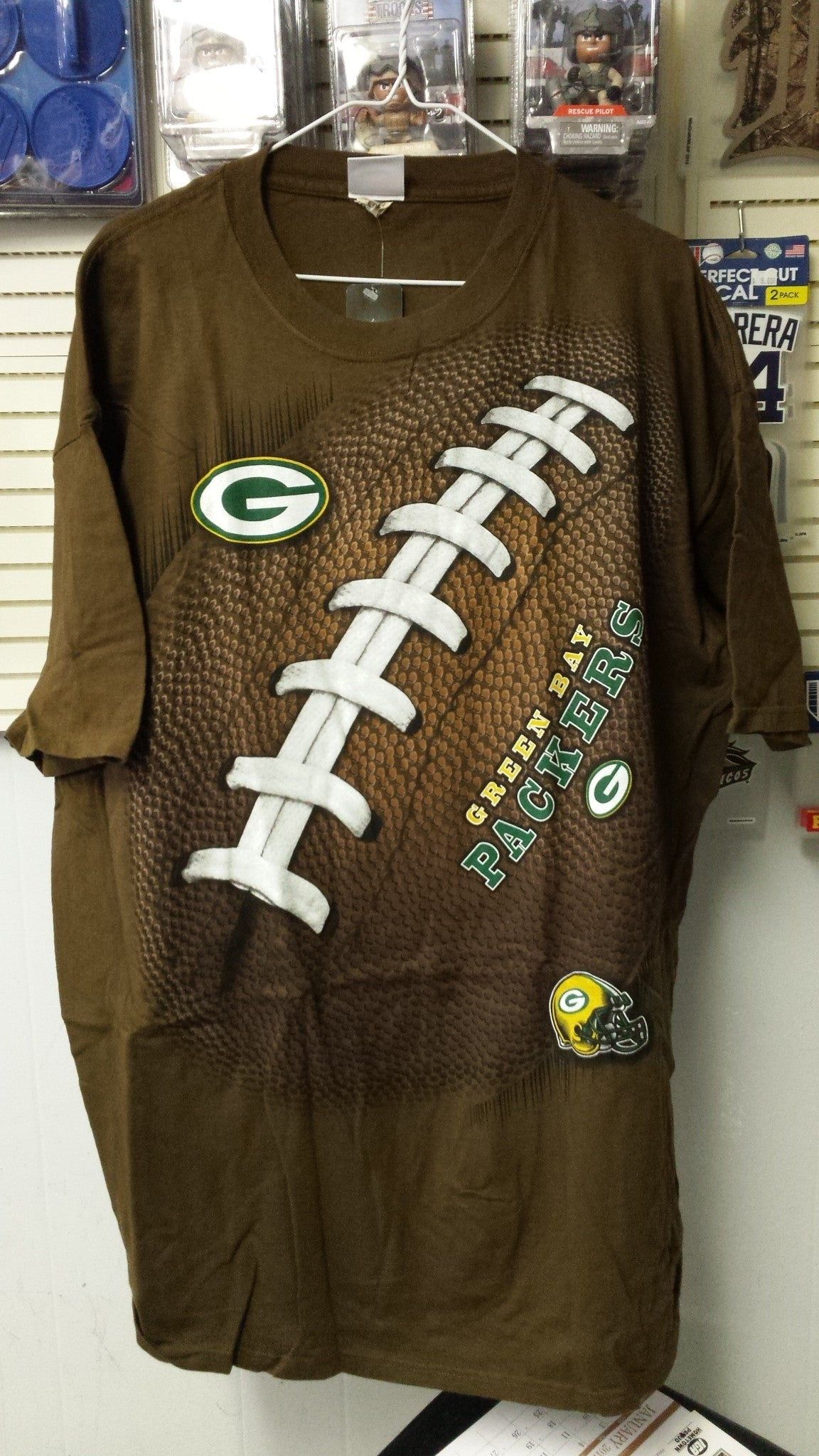 NFL Green Bay Packers 3D-Style Kickoff Tie-Dye T-Shirt