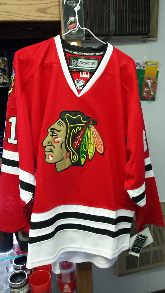 NHL Marian Hossa Chicago Blackhawks Home Red Jersey