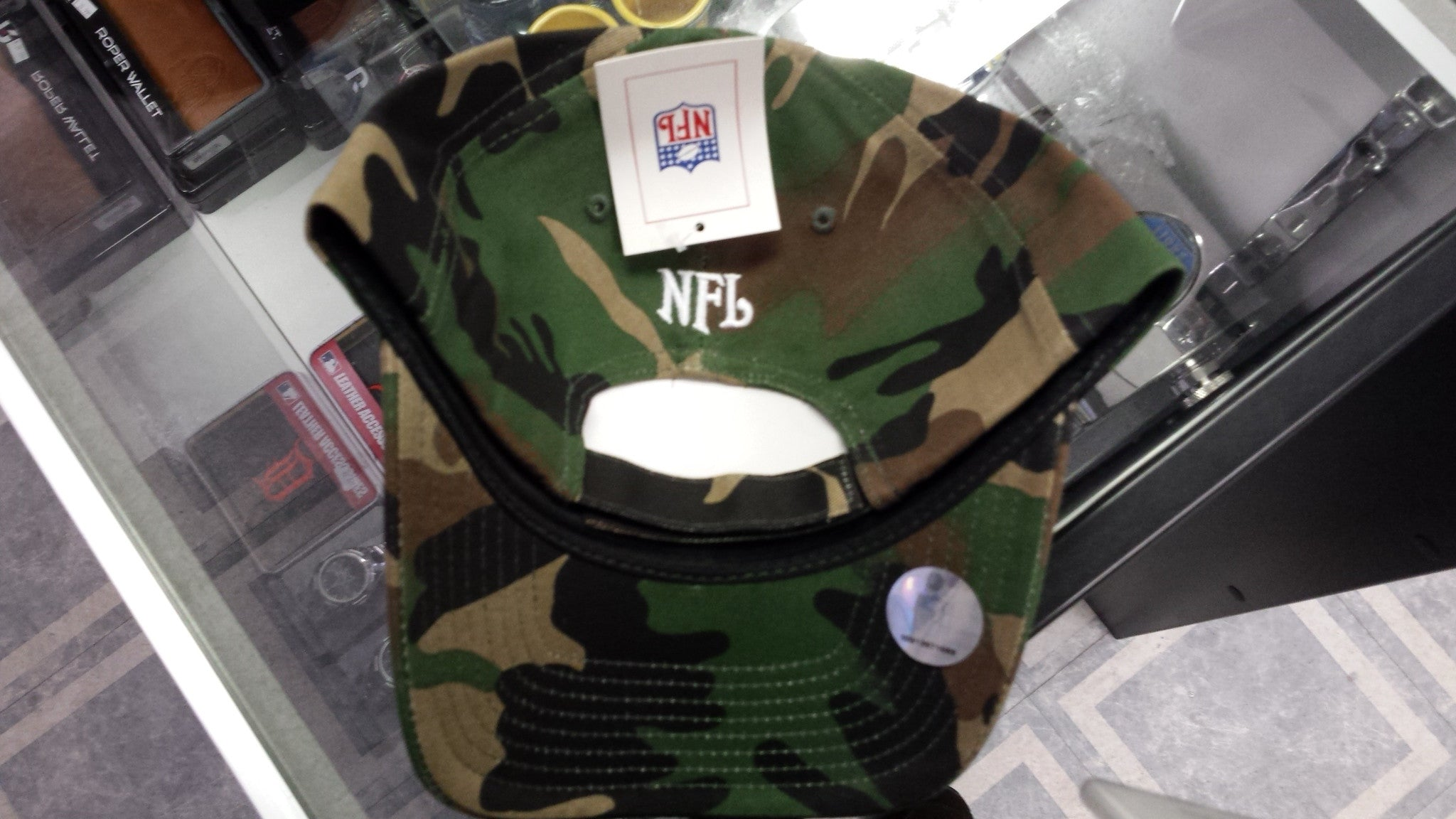 649f725f267 NFL Licensed Detroit Lions Traditional Camouflage Hat