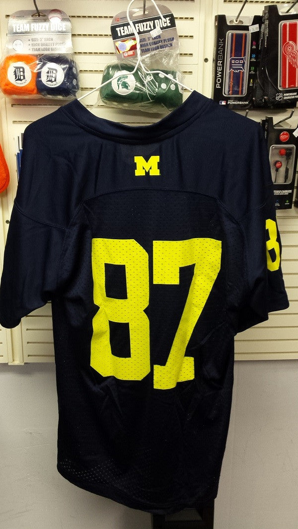 NCAA Michigan Wolverines Authentic Replica Youth Jersey - Medium